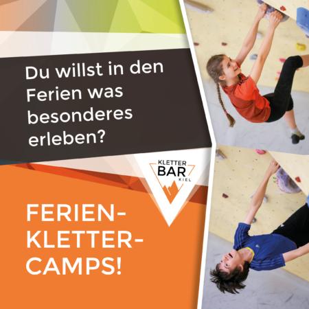Kinderferienprogramm Kletter Camps