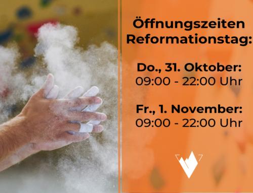 Öffnungszeiten Reformationstag